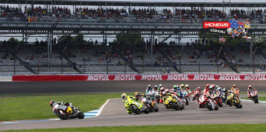 Moto2 Start Indianapolis