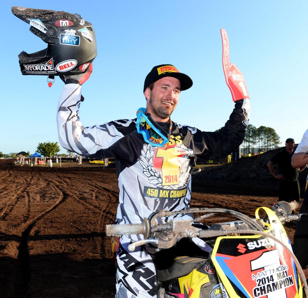 Matt Moss rides smart to take crown at Coolum