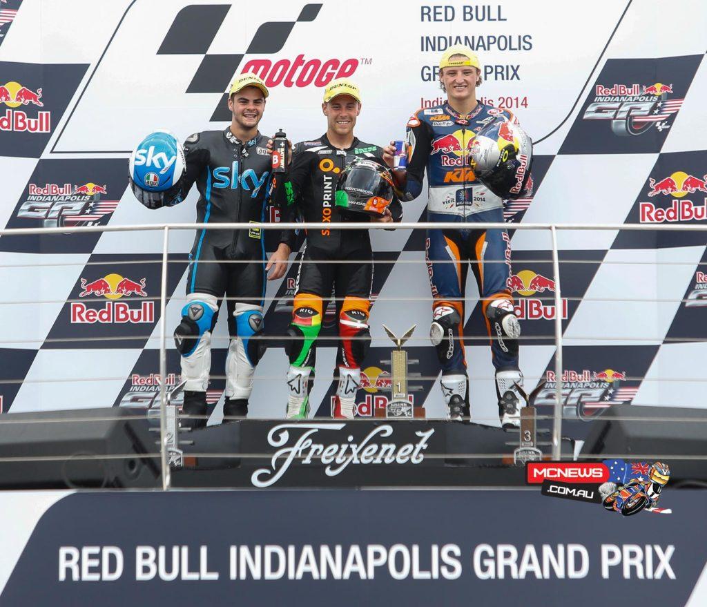 Moto3 Podium Indianapolis