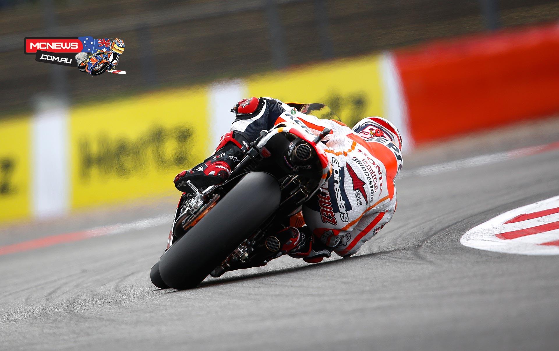 Marc Marquez on Silverstone MotoGP pole | MCNews.com.au