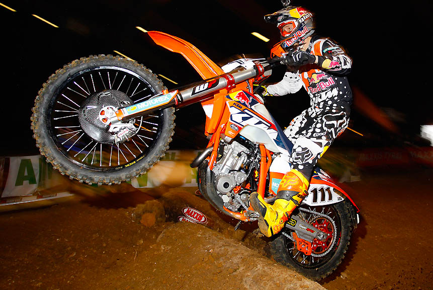Taddy on the gas in 2014
