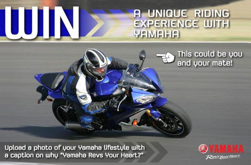 Win a Yamaha Ride Experience