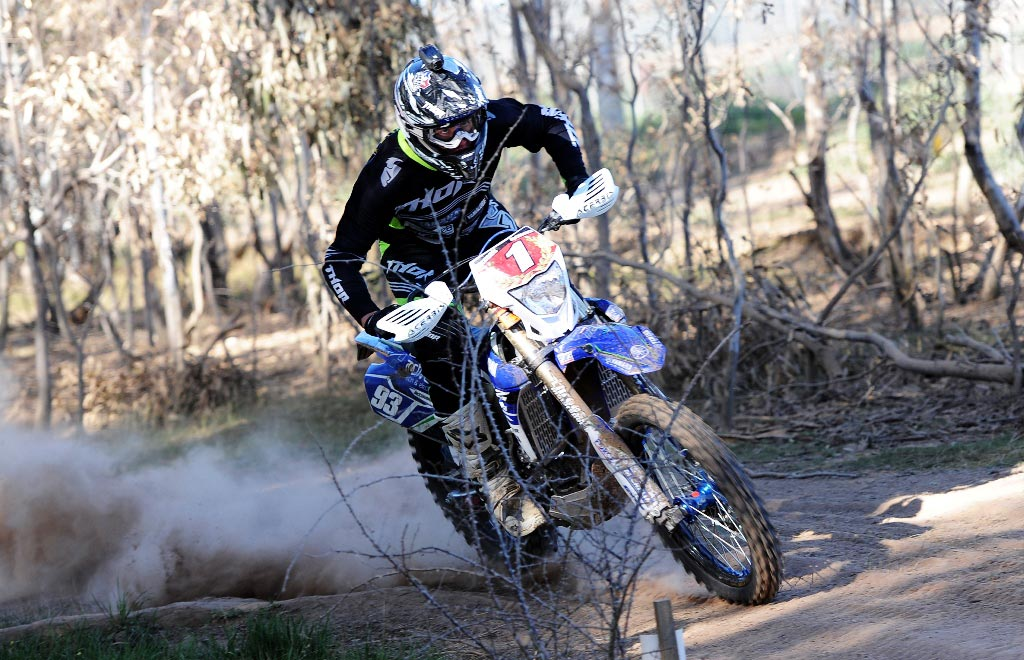 Tom McCormack was 2014 E1 AORC Champion