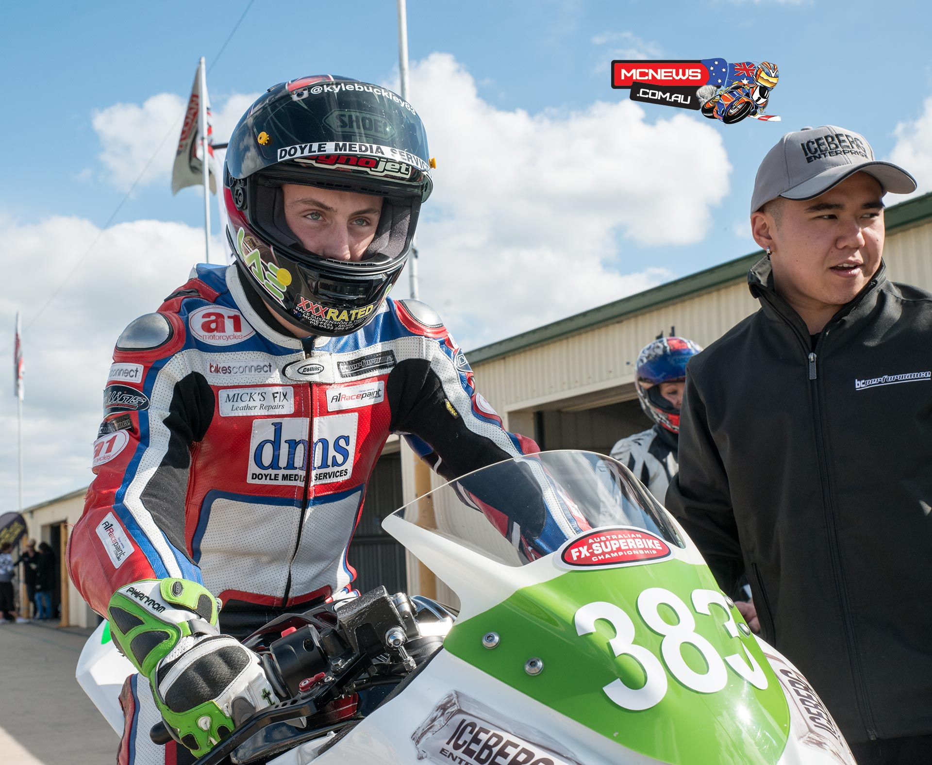 Kyle Buckley is promoted within the BCperformance team to the Supersport ranks in 2015