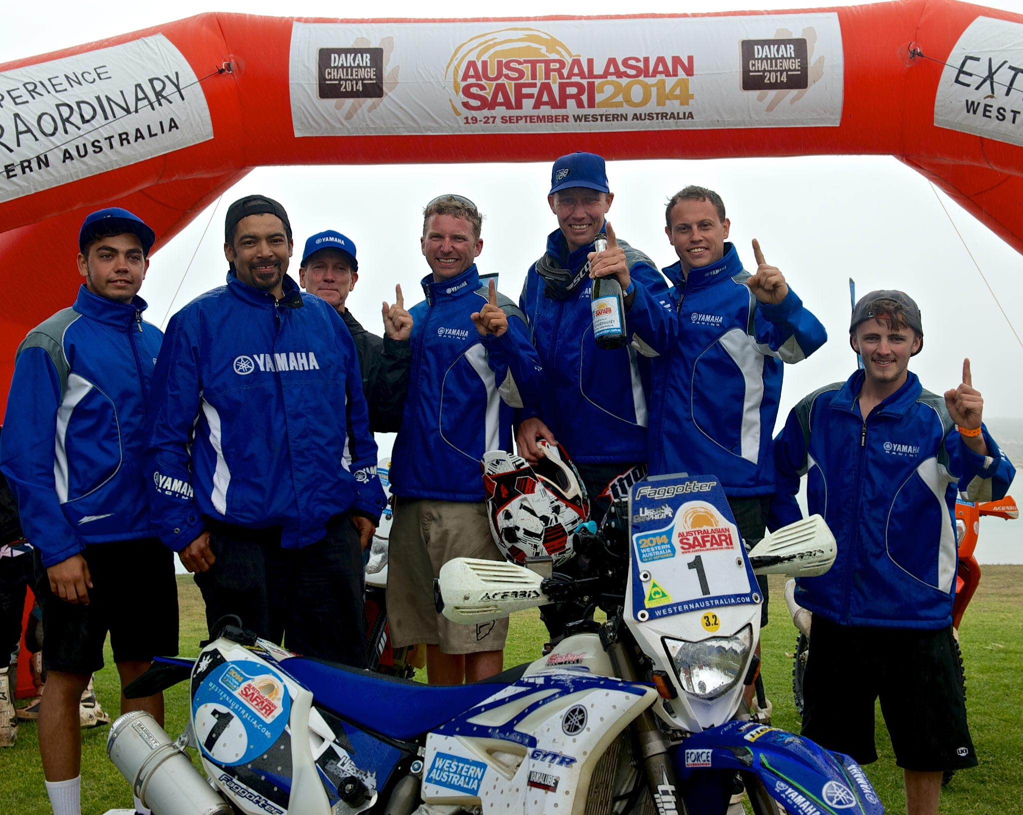 """""""Winning the Australian Safari is a great endorsement of the high performance and durability of the Yamaha WR450F,"""" states Yamaha Motorsport Manager, Ray Howard. """"Rodney and the Active8 team had a trouble free run to win this event and combined with last years' victory, it really does show just how tough the WR450F. """"Congratulations to Rodney and to AJ Roberts and the Active8 Yamaha team on this sensational result and it is something Yamaha Motor Australia is extremely proud of,"""" Howard ends."""