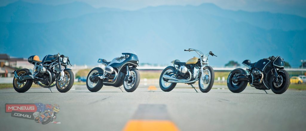 BMW Motorrad R nineT custom bikes