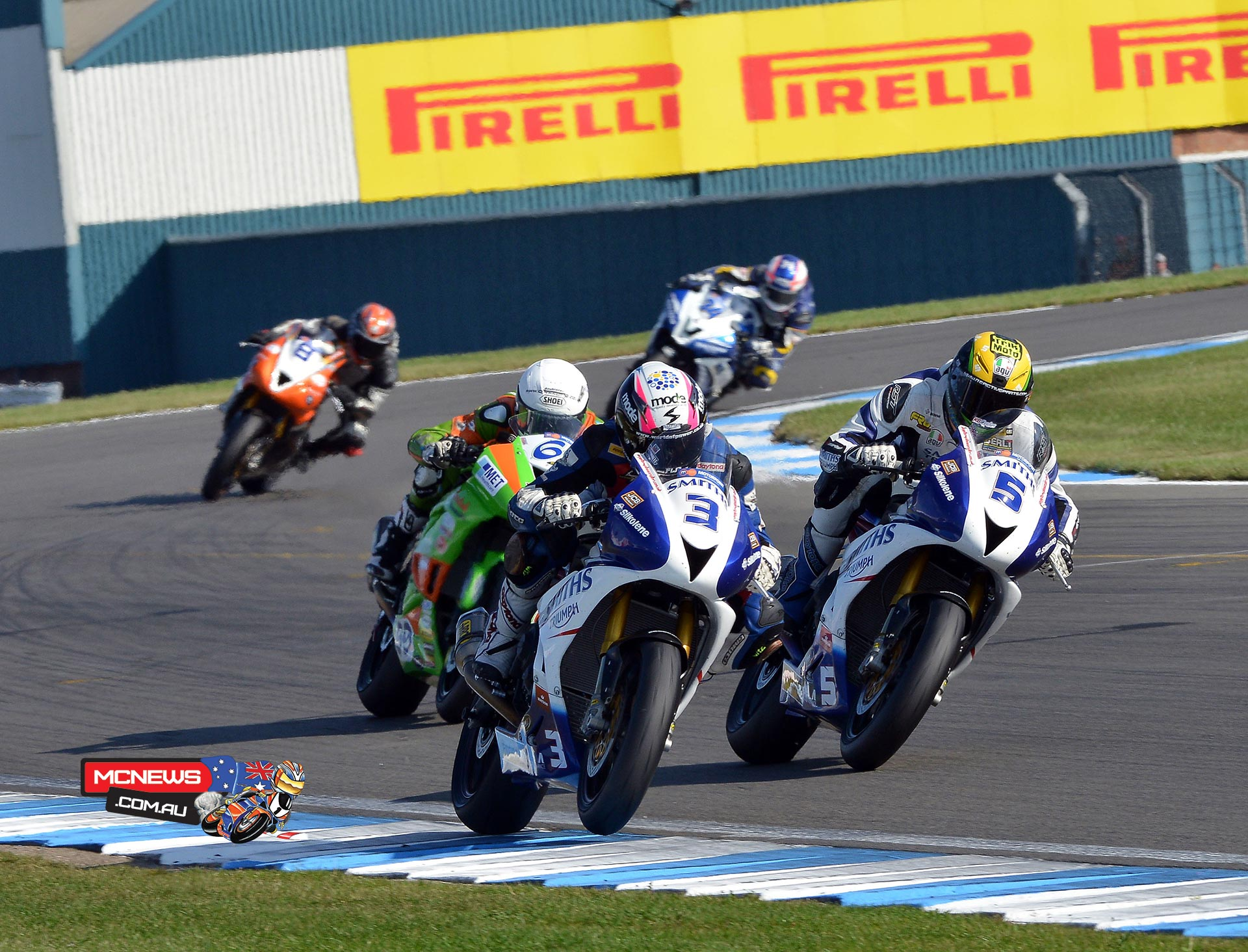 Billy McConnell leads British Supersport by single point