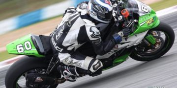 Burke and Li finish Chinese Superbike season on a high