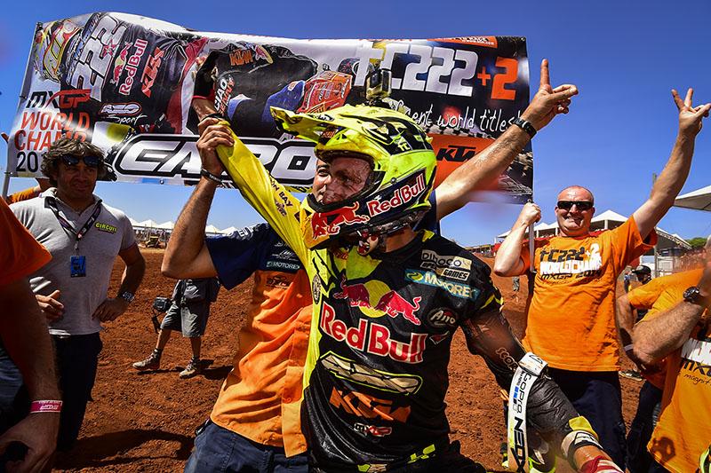 Antonio Cairoli MX1 Champion