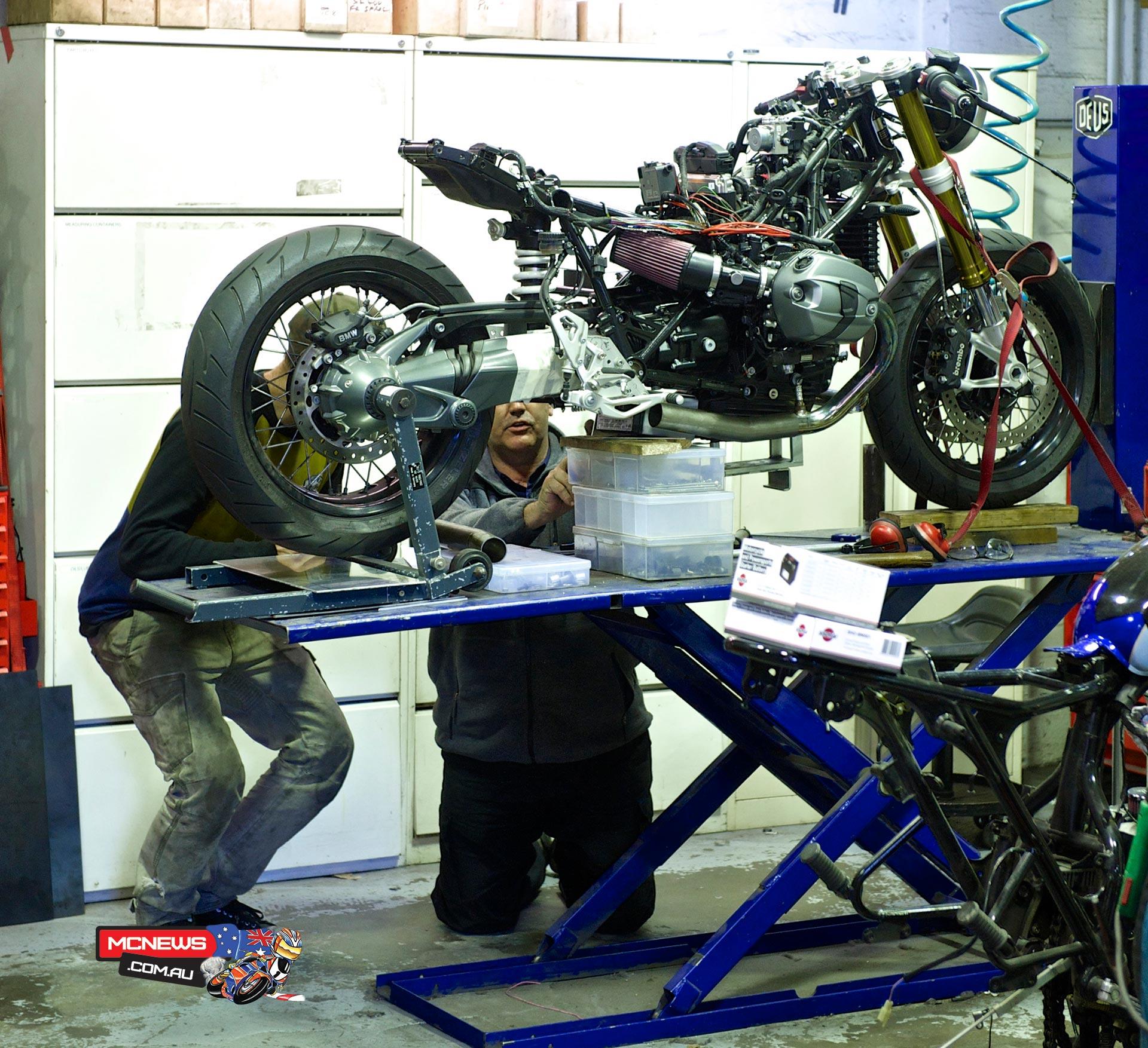 Deus R nineT. Project Deus / BMW Motorrad R nineT