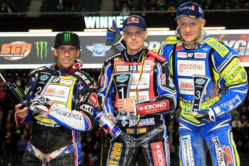 Jaroslaw Hampel wins Stockholm Speedway GP