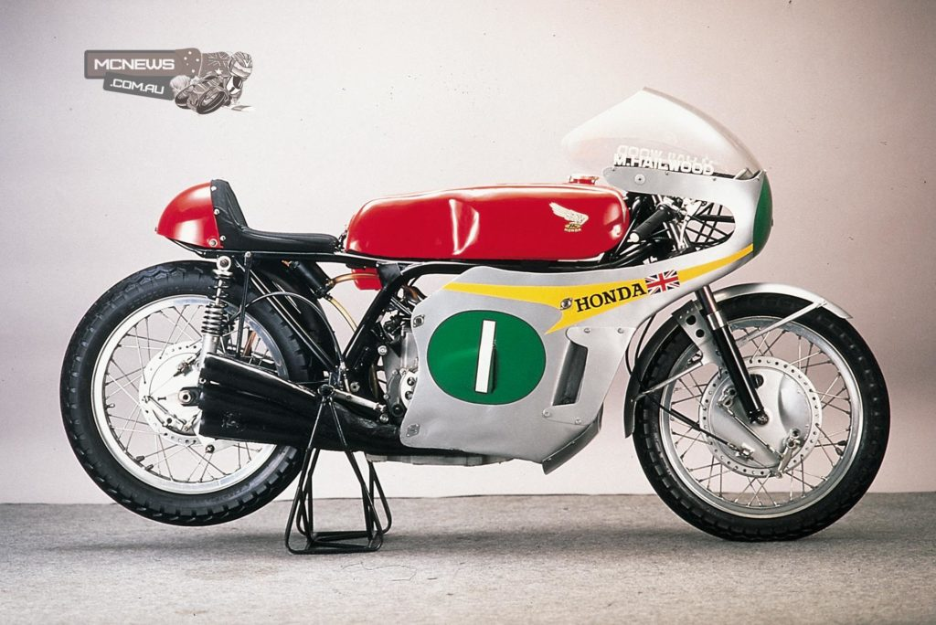 Honda RC166 as ridden by Mike Hailwood