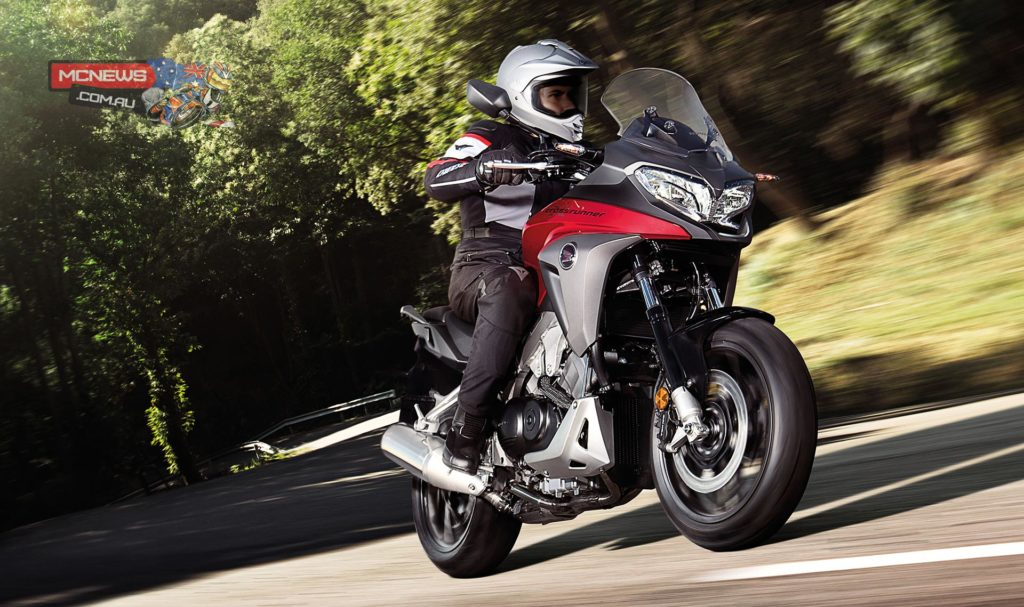 Honda VFR800X Crossrunner updated for 2015