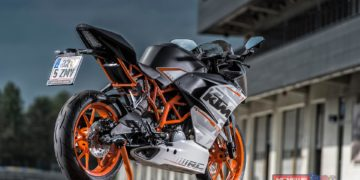 Now is a great time to pick up a lean, mean RC 390 - KTM's Moto3 –inspired dynamo, available for a short time (with your choice of matching accessories) on a lean, mean 5.99% comparison rate with KTM Sportmotorcycle Finance.