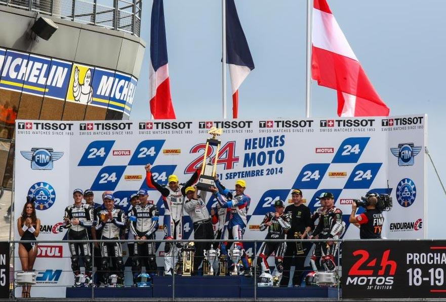 Le Mans 24 Hour 2014 Podium