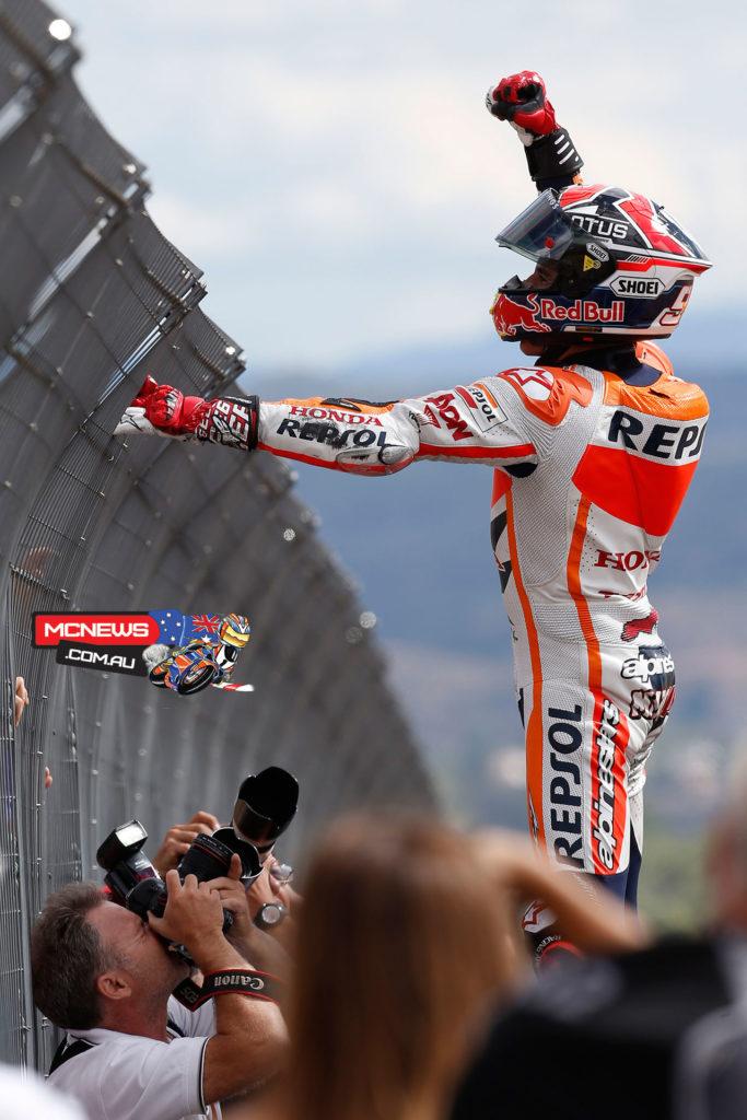 Marc Marquez aAragon MotoGP 2013