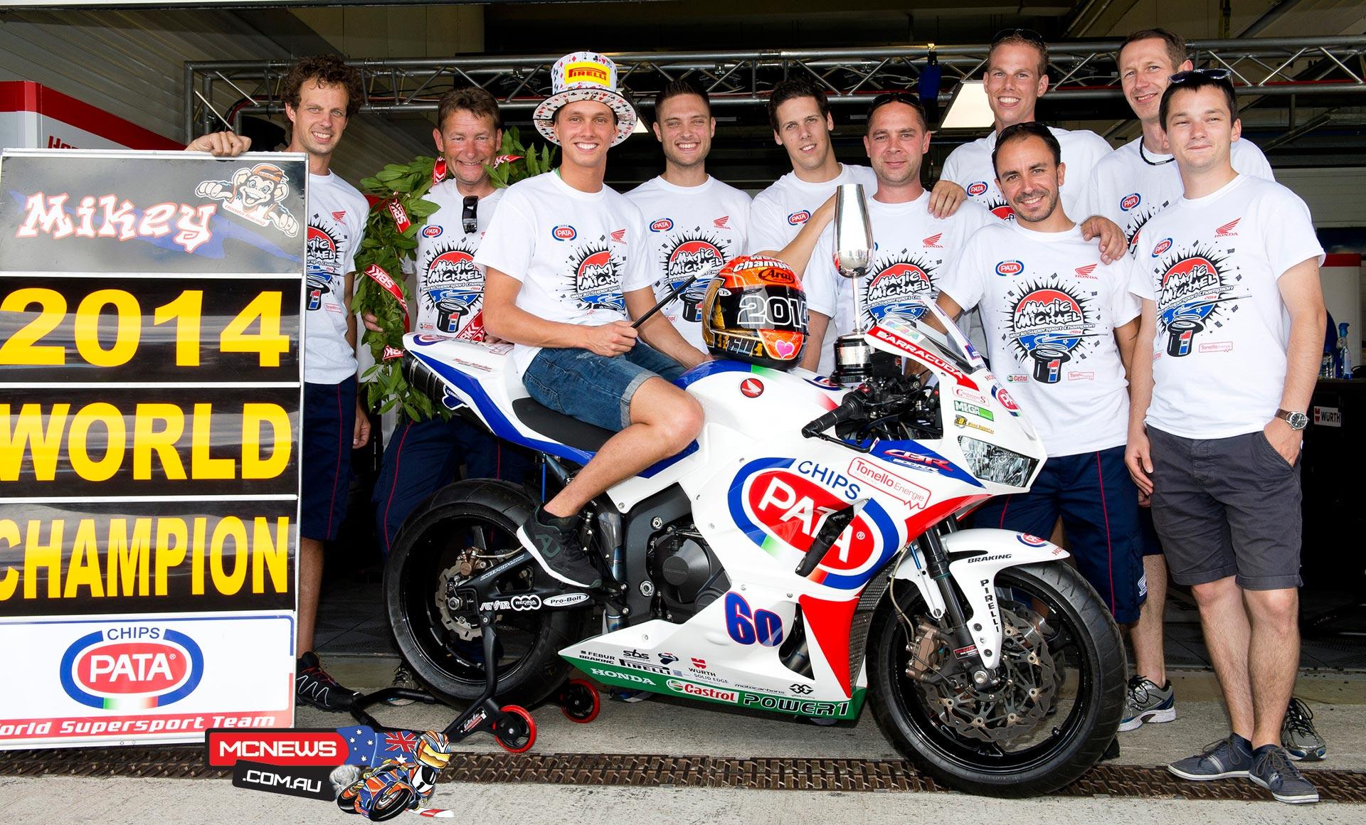 Michael Van der mark - 2014 World Supersport Champion