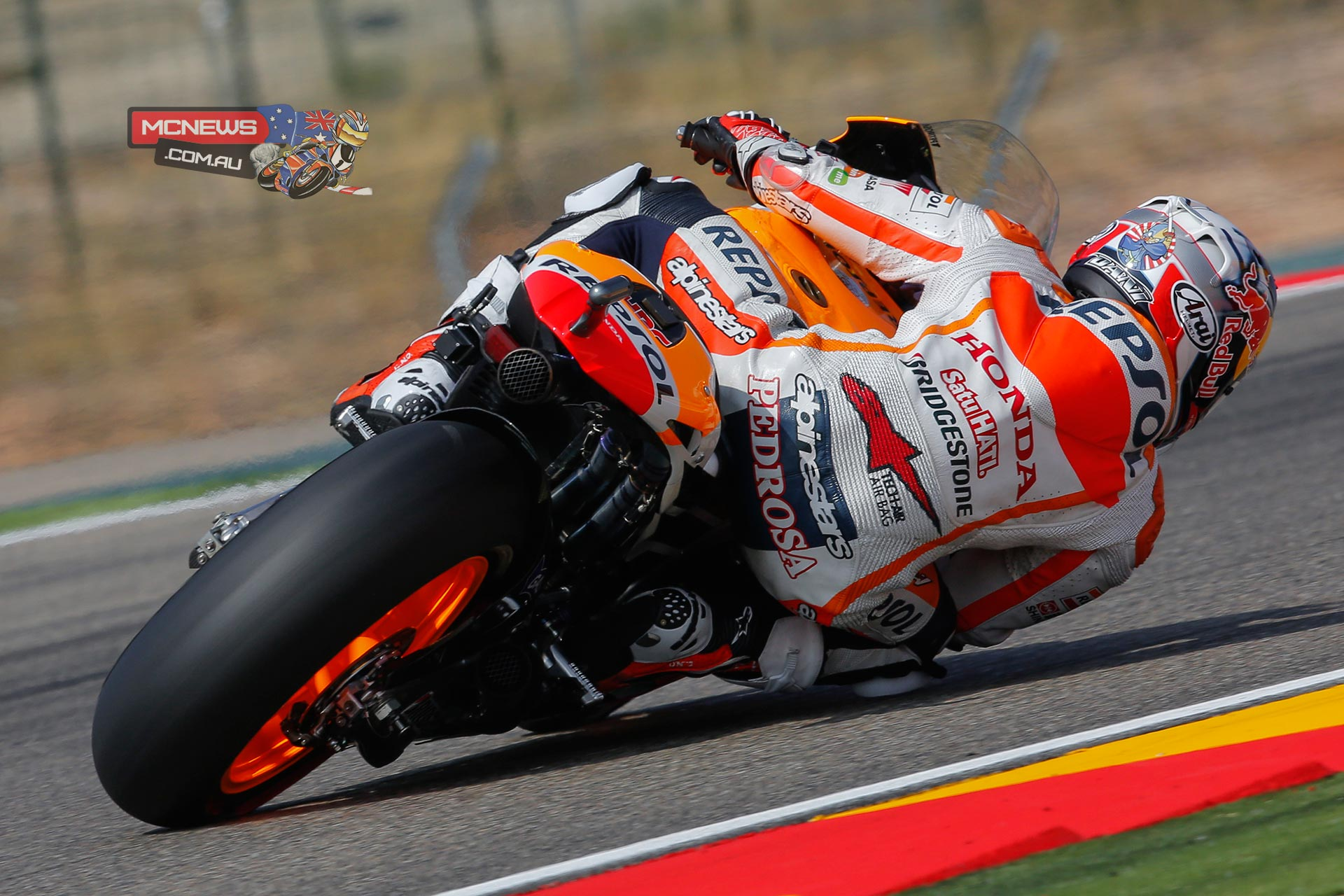 """Dani Pedrosa, Repsol Honda: 2nd, 1m 47.549s - """"Today we had a good qualifying session. In other races we have had difficulties because we haven't started from the front, but today we managed to set a good lap. I think that the practice sessions also went well for us, and tomorrow in the race we will be as competitive as possible. Marc is setting some very good times, so we will try to fight for the win against him! It will be important to get a good start, although the race is long and the pace will play a big part, so we will have to keep our concentration on every corner."""""""