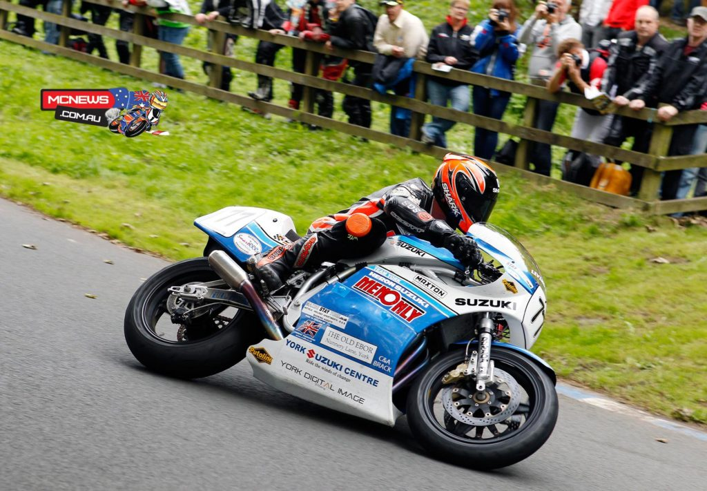 Ryan Farquhar on the York Suzuki 1100