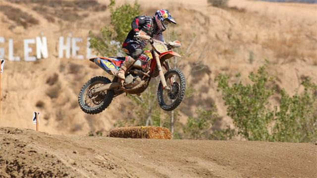 Taylor Robert claimed his fourth straight WORCS win at Glen Helen Raceway