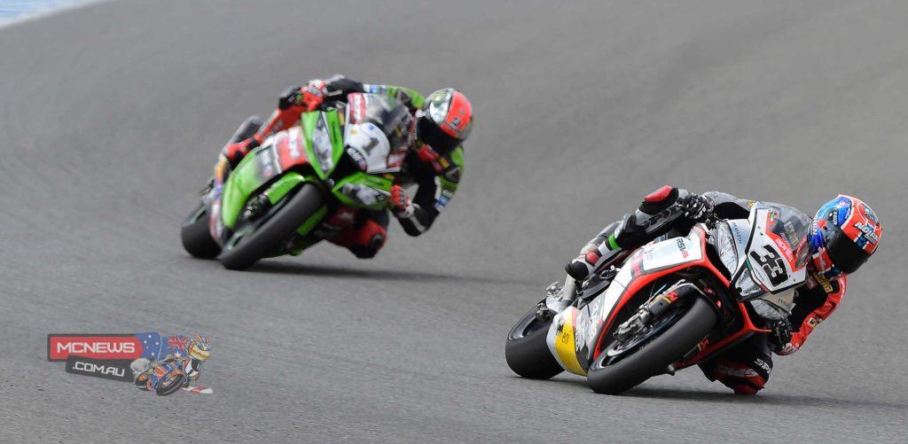 Melandri leads Sykes at Jerez