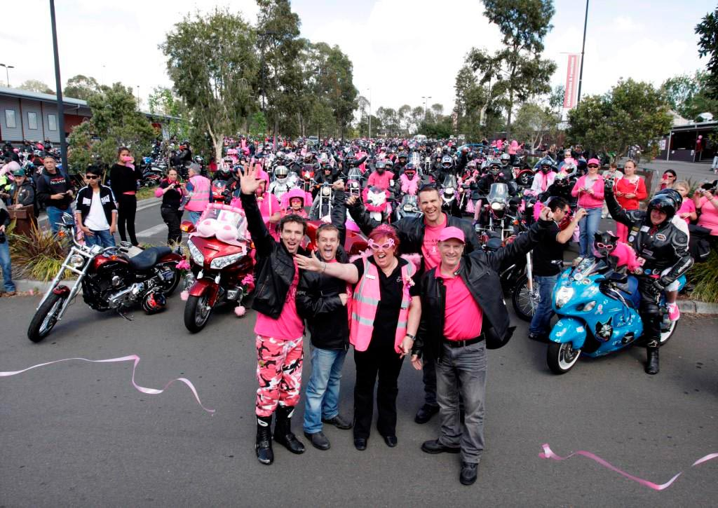 Harley-Davidson will be looking pretty in pink this October 12, as motorcyclists take to the roads for the annual Pink Ribbon Motorcycle Ride in Sydney, raising money and awareness for breast cancer research.