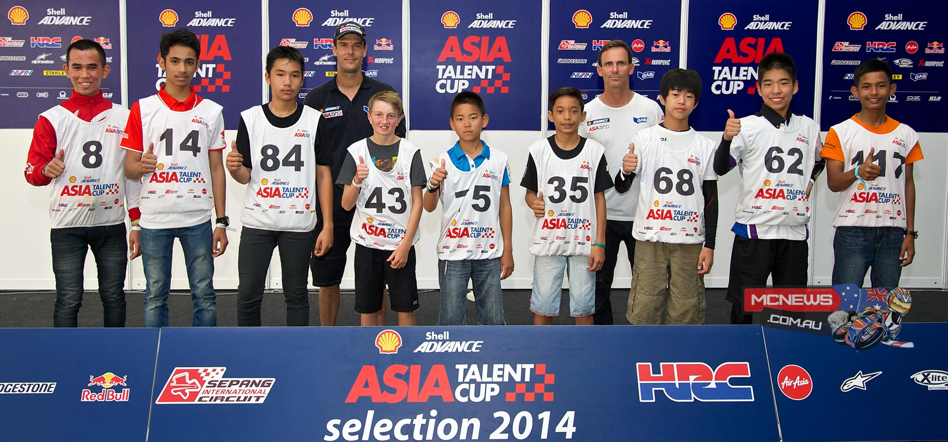 Photo from Asia Talent Cup Selections Event