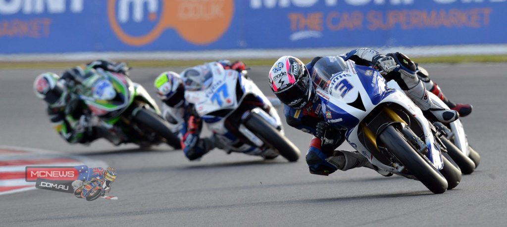 Billy McConnell at Silverstone