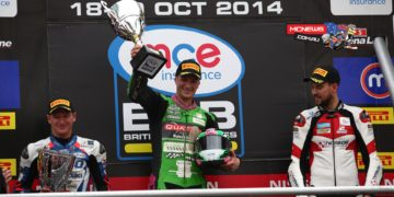 Brands Hatch Superbike Race One Podium