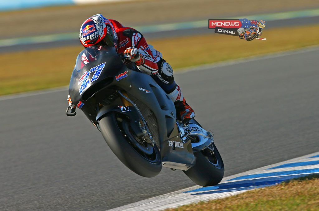 Casey Stoner completes two-day test in Motegi October 2014