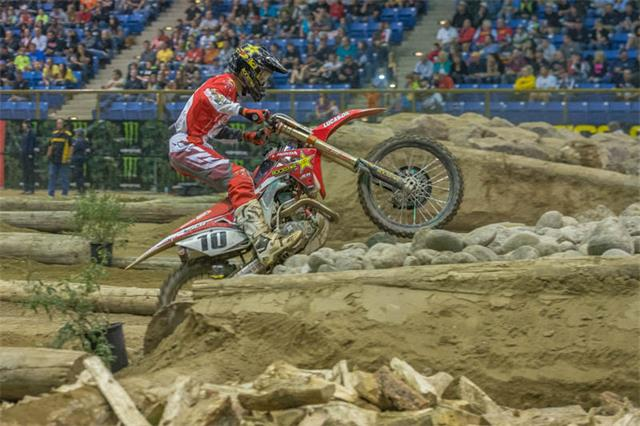 JCR Honda rider Colton Haaker scored his second win of the season at round five of the AMA GEICO EnduroCross Series in Denver, Colorado.