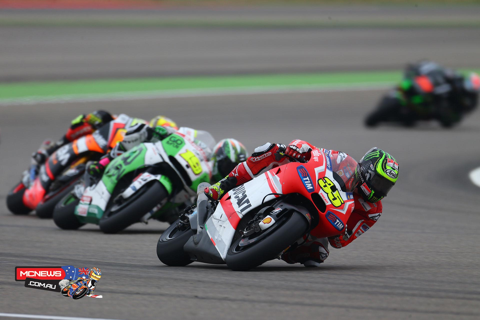 Cal Crutchlow Aragon MotoGP 2014