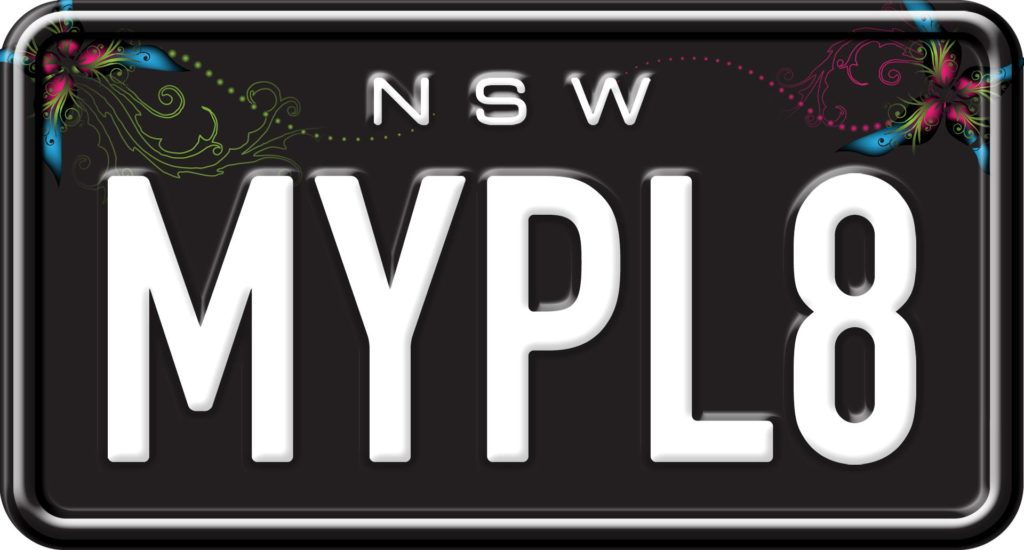 Dark Angel - Custom NSW Motorcycle Number Plates
