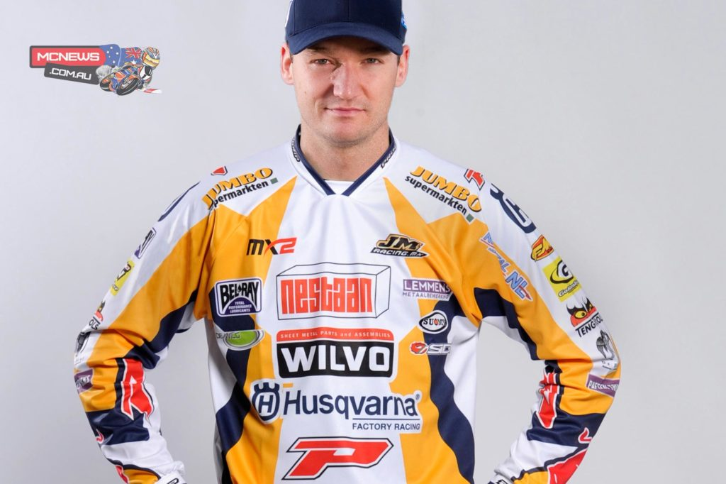 "Dean Ferris: ""I'm really grateful for the opportunity of staying in MXGP for 2015 that both Wilvo Nestaan and Husqvarna have given me. I really enjoyed my return to MXGP in 2014 and it's fantastic to know that it will continue. The Wilvo Nestaan team are very enthusiastic and motivated for the year ahead and I know that with the FC 350 we can achieve great results."""