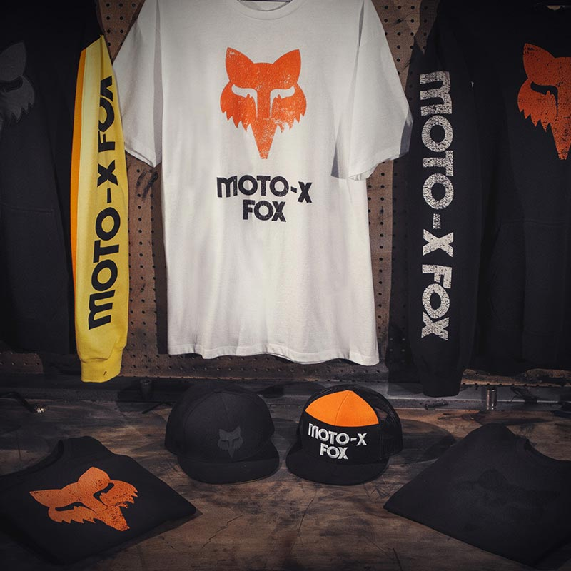 New collection of Fox 360 Racewear celebrates 40th Anniversay - Originally designed for the 1977 AMA 125 Nationals Team 'Moto-X Fox',
