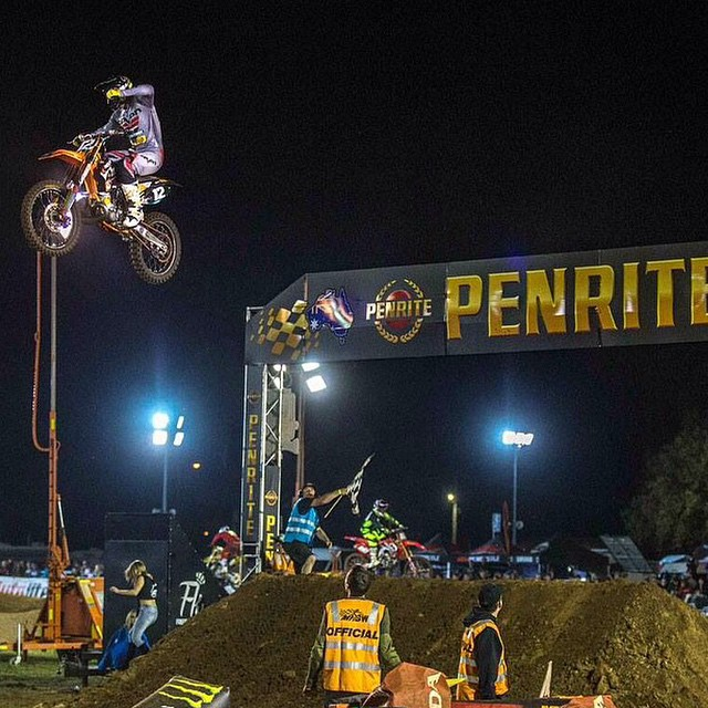 "Brendan Harrison took over the lead and rode fast and consistent laps on Friday night's season opener to take an easy win ahead of Wilson Jetpilot Honda rider Kyle Peters and Faith (Penrite Honda). ""The win has given me good confidence,"" Harrison said. ""I got the monkey off my back finally with that win, I am really looking forward to the rest of the series still ecstatic about last night but I have to move on and finish the season off strong."""