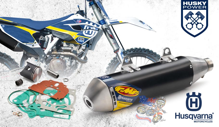 Grab a 2014 Husky, get a free Power Up kit - but only while stocks last.