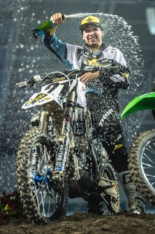 Jason Anderson had his first outing on the Husqvarna at the MX24 International Supercross held in Stockholm last weekend and took out the main event ahead of a quality field
