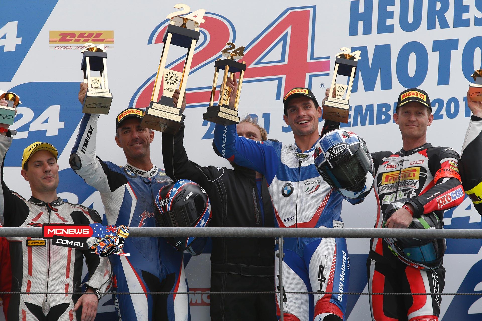 Le Mans 24 Hour 2014 - Jason Pridmore - Sylvain Barrier - Glenn Allerton
