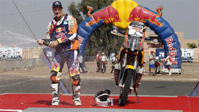 Rally legend Marc Coma has won the OiLibya Rally of Morocco and wrapped up his sixth World Rally Championship