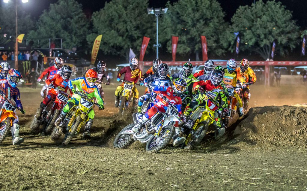 The opening two rounds of the Australian Supercross Championships held at Bathurst on the weekend was by all reports a success with a solid crowd on hand both nights to watch Matt Moss completely blitz the Pro-Open class
