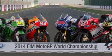 MotoGP Machinery line-up 2014