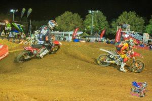 Taylor Potter and Gavin Faith - Penrite Australian Supercross Championship Round Two 2014 Bathurst
