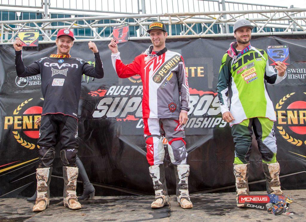 Penrite Australian Supercross Championship SX2 Podium (Rd 4)