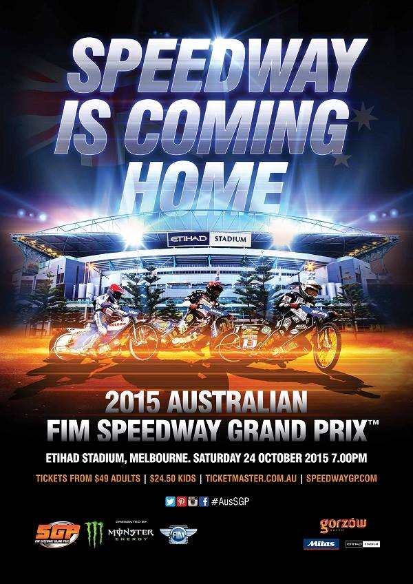 FIM Speedway GP is returning to Australia