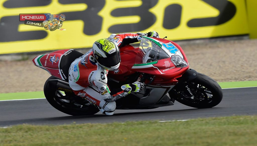 Jules Cluzel will start tomorrow's penultimate World Supersport race of the season at Magny-Cours from Pole Position after an enthralling qualifying session this afternoon.