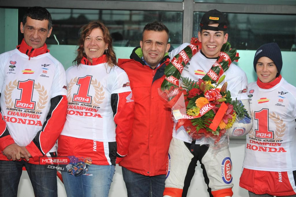 Augusto Fernandez (WIL Sport) has clinched the 2014 Pata European Junior Cup