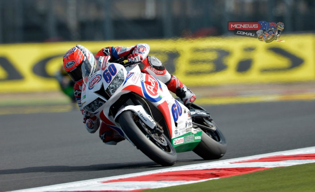 After topping FP1, newly crowned World Supersport Champion Michael van der Mark (Pata Honda) continues to dominate World Supersport, ending the opening day of action at Magny-Cours on top of the standings after improving his morning time on his final lap of FP2.