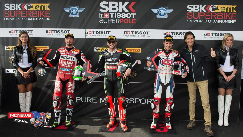 The penultimate Tissot-Superpole of the season has gone to Tom Sykes (Kawasaki Racing Team), courtesy of a circuit best lap of 1.36.366 after a fast and furious session saw the top spot change repeatedly in the final minutes.