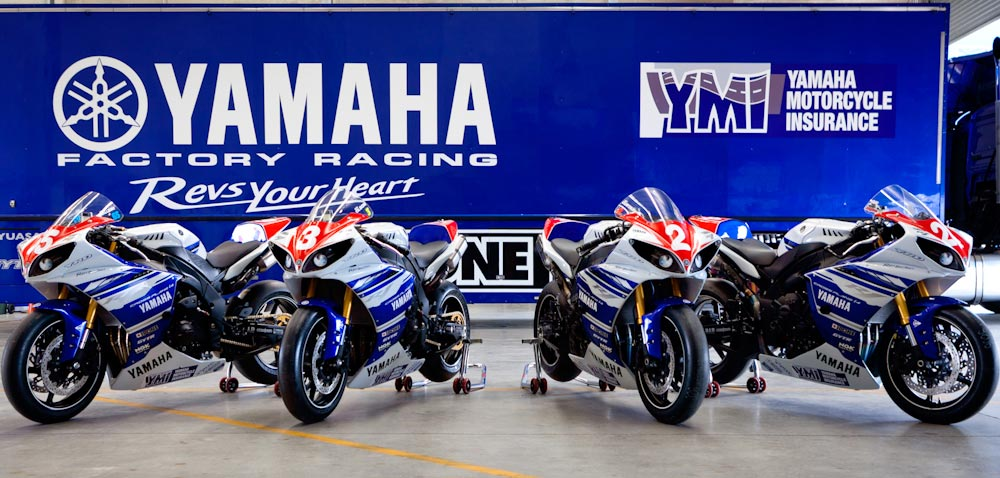 YRT Factory YZF-R1 racebikes for sale